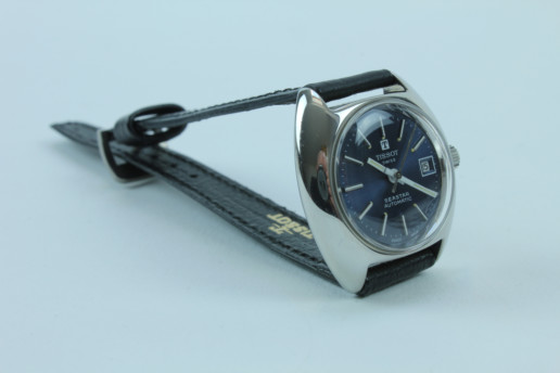 TISSOT SEASTAR VINTAGE BLAU DAMEN UHR, BEAUTIFUL BLEU DISPLAY DESIGN SPECIAL