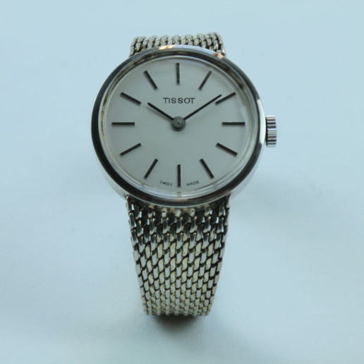 VINTAGE TISSOT SILBER DAMEN UHR NOT USED , LadyWatch , Not Used !