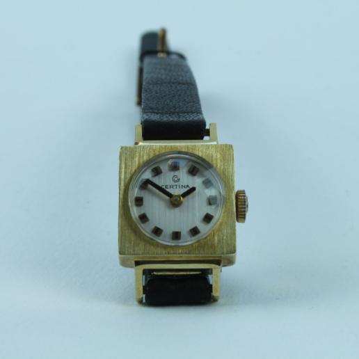 CERTINA SWISS MADE LADYWATCH 585 GOLD HANDWINDING VINTAGE UNUSED