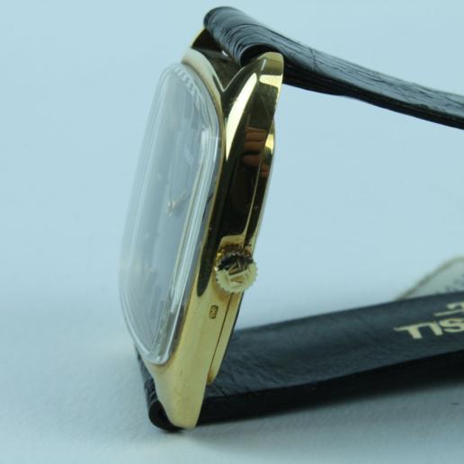 TISSOT GOLDUHR 585 VINTAGE HANDAUFZUG , manual winding , not used !
