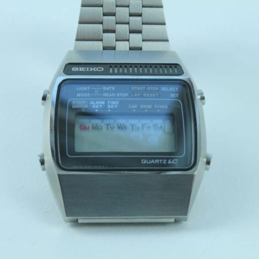 SEIKO QUARTZ LC VINTAGE WATCH NOT USED WITH SOUND