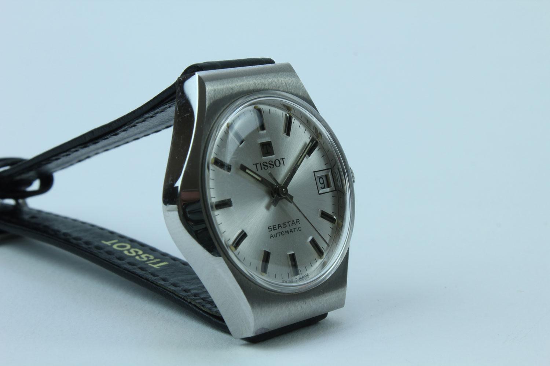 tissot seastar automatic damen uhr vintage watches. Black Bedroom Furniture Sets. Home Design Ideas