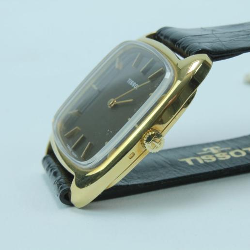 TISSOT GOLDUHR 585 VINTAGE HANDAUFZUG , manual winding, not used